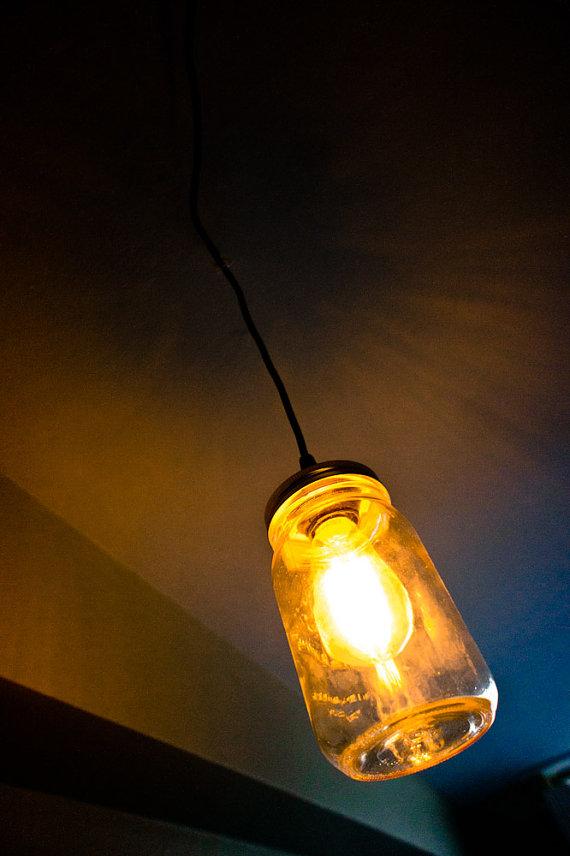 Jar light - via Etsy