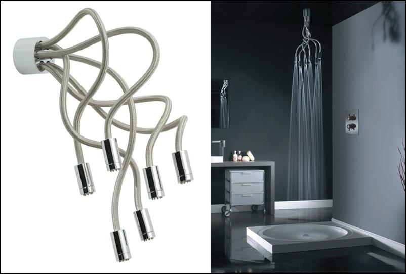 Vado Sculpture Flexible Shower Head - Adjust it the Way You Want!