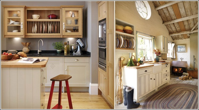 4. Image Source John Lewis. The first kitchen is having a plate rack ... & Organize Your Kitchen in a Traditional Way with a Plate Rack!
