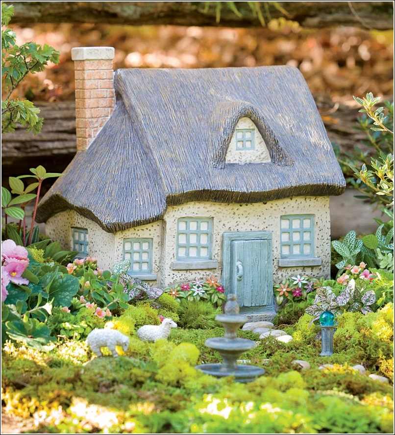 Enchanted Miniature Fairy Gardens With Houses Where