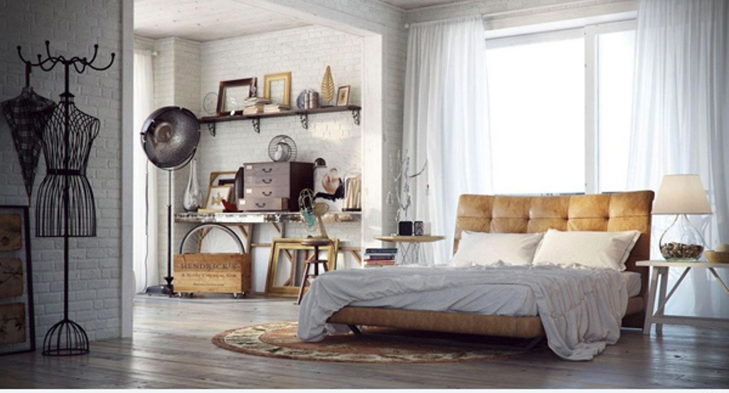 Chick Urban Bedroom Design Chick Urban Bedroom Design. Urban and Indusrtial Design is important