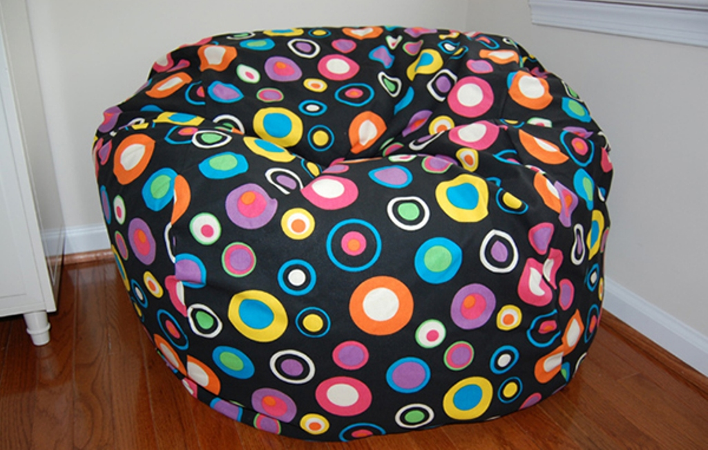 Colorful Polka Dots Bean Bag Design