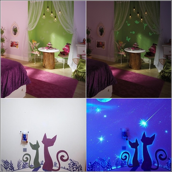 glow in the dark paint and decals for your child 39 s room. Black Bedroom Furniture Sets. Home Design Ideas