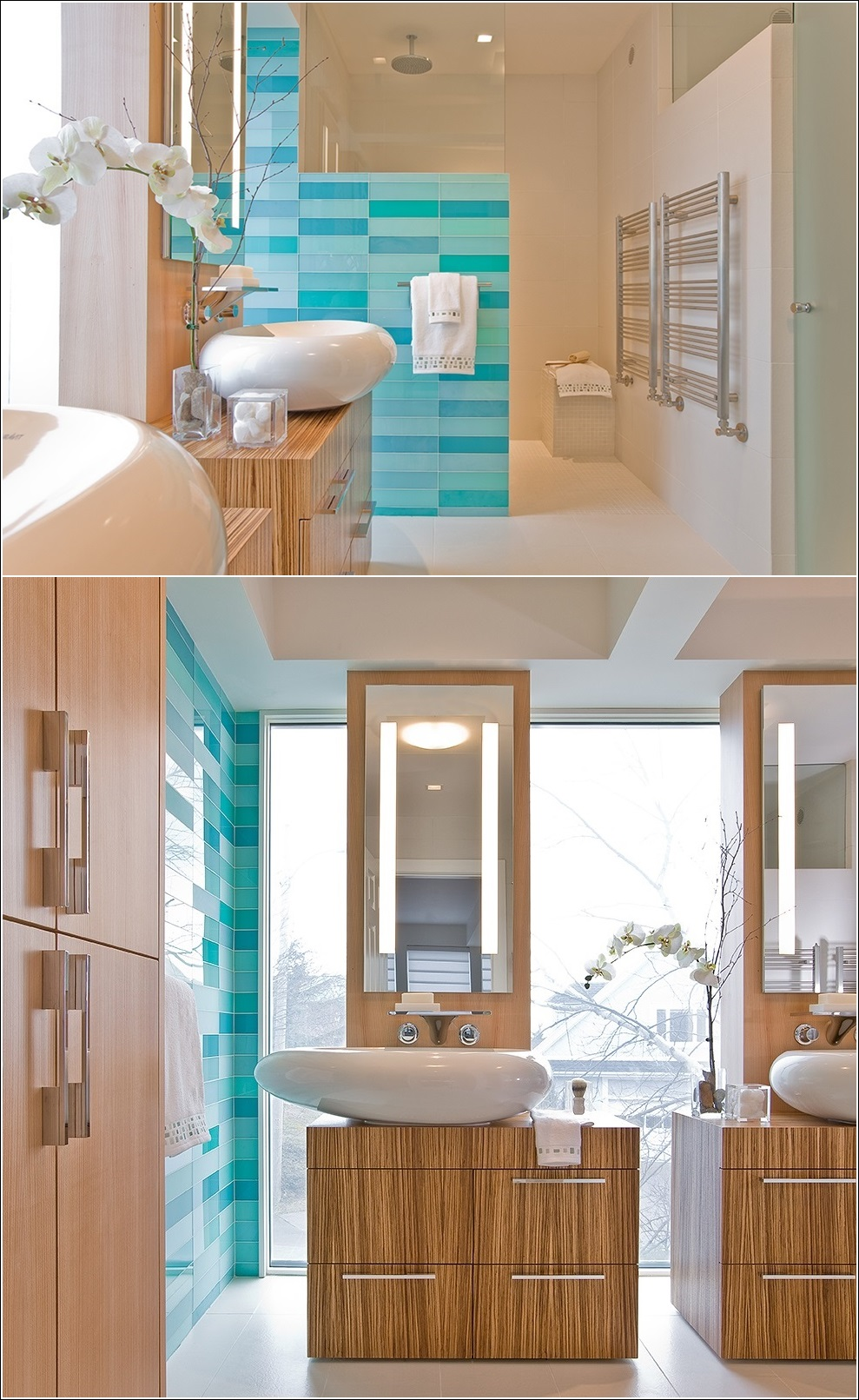 Spa Style Bathroom Designs for Your Inspiration !