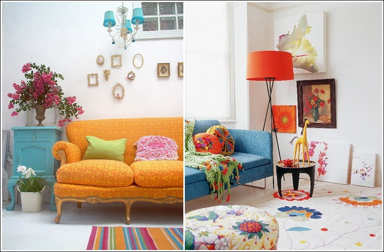 Decor Ideas In Bohemian Style
