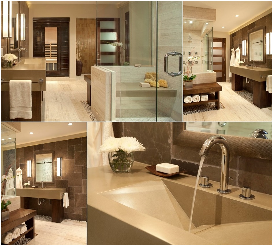 spa style bathroom designs for your inspiration. Black Bedroom Furniture Sets. Home Design Ideas