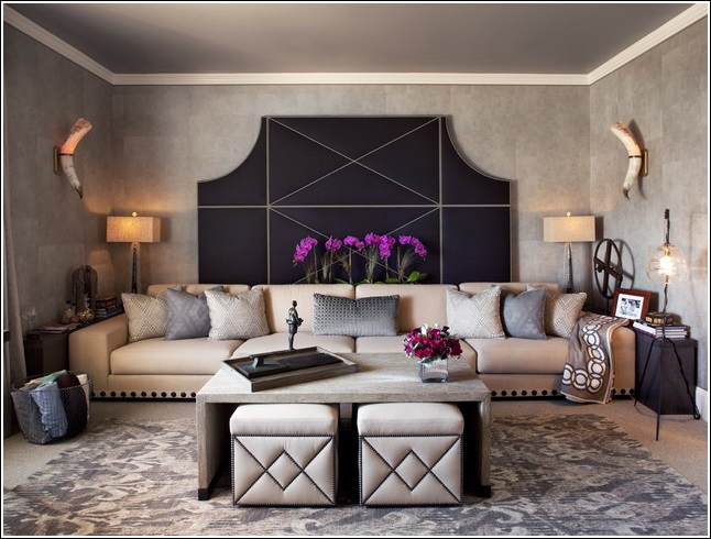 Stylish Ottomans For Decorating Your Living Room
