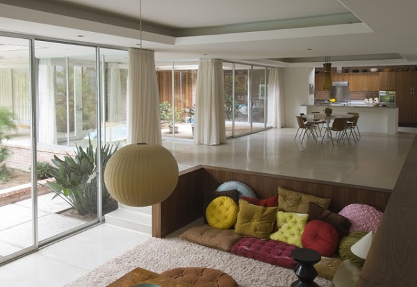 Sunken Seating And Other Home Interior Ideas: Sunken Living Rooms Can Change Your Home