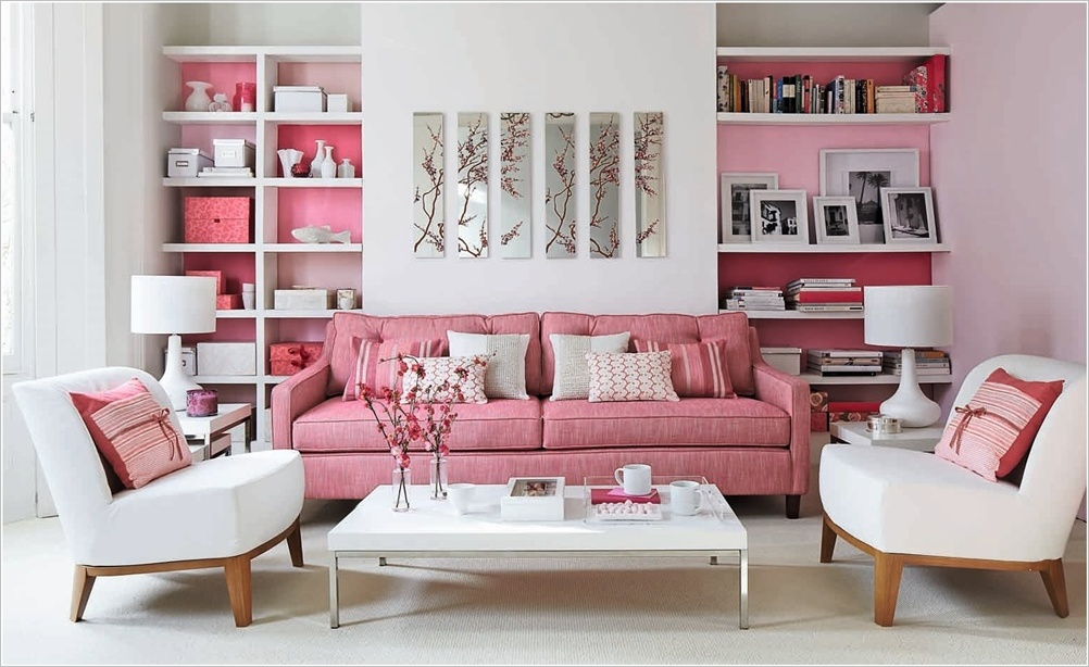 Interior Decor With Cherry Blossoms