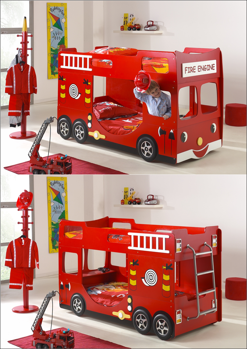 Truck Beds For Boys : Bus and truck beds that will take your kids to a journey