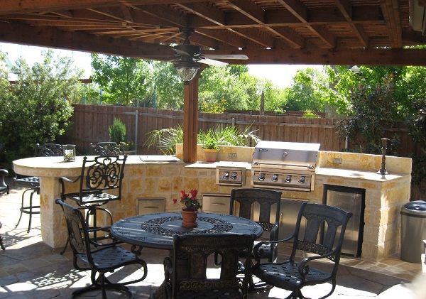 Achieving great outdoor barbecue setups for Great outdoor kitchen ideas