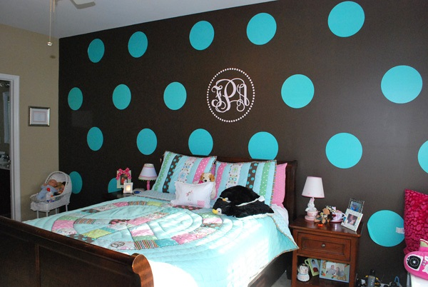 Fun Cannot Seem To End With Polka Dots Room Decor