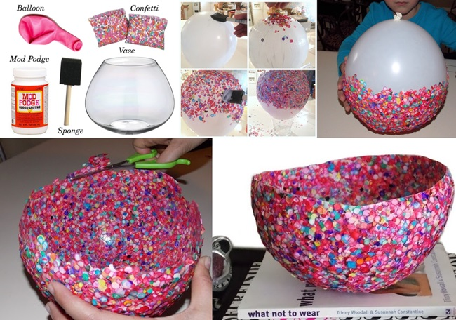 DIY Confetti Bowl for You to Try!