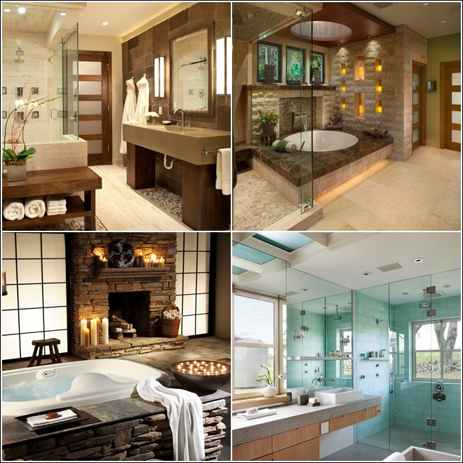 Spa Look Bathrooms: Spa Style Bathroom Designs For Your Inspiration