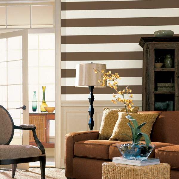 Decorating With Stripes For A Stylish Room: DELIGHTFUL & FUN DESIGNS WITH STRIPE WALLS