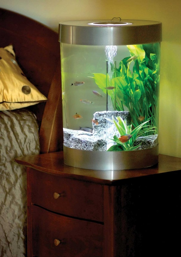 Substantial Home Decor With Bedroom Aquariums