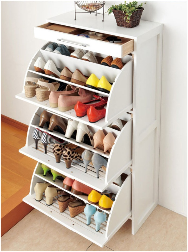 Home Storage Ideas Amusing Shoe Storage Solutions For Your Home Review