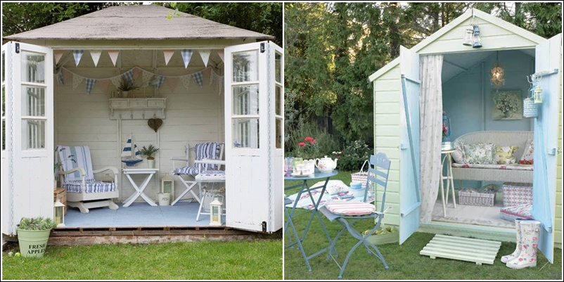 Transform Your Garden Shed or Greenhouse into a Relaxing Retreat