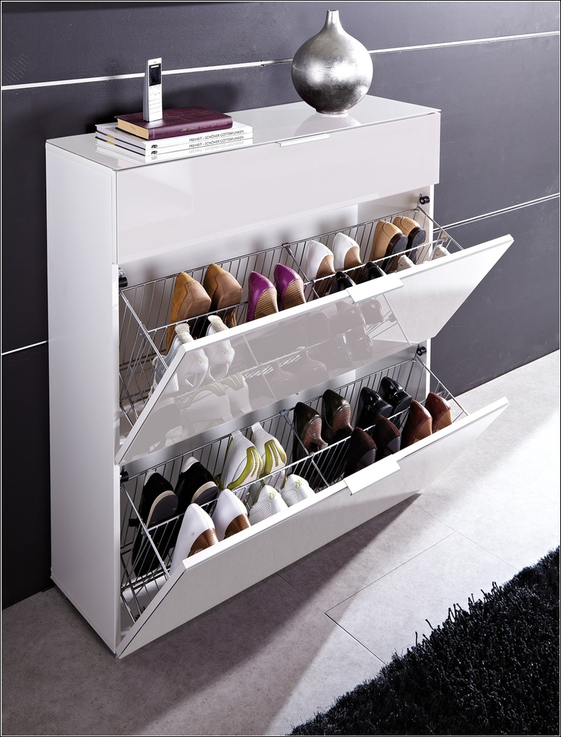 shoe storage solutions for your home. Black Bedroom Furniture Sets. Home Design Ideas
