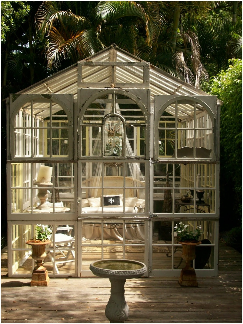 Transform your garden shed or greenhouse into a relaxing retreat - Glass house show ...