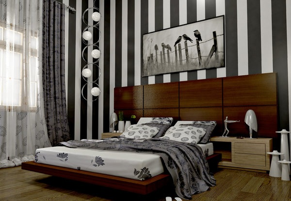 Chic and Fabulous Striped Walls