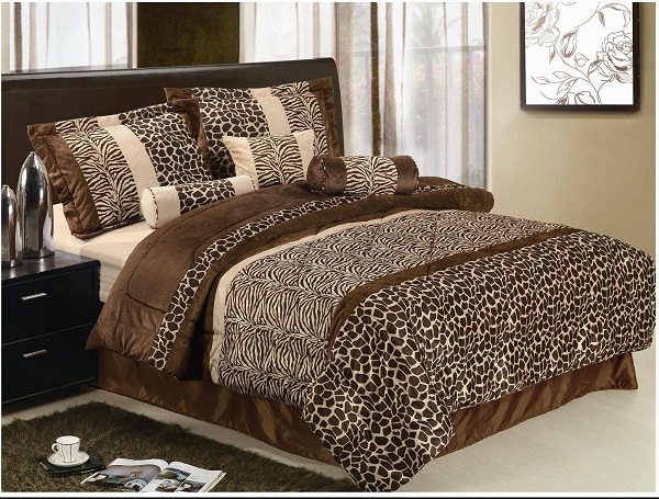 Animal Print Bedding Can Look Amazing In A Bedroom