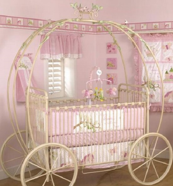 Baby Girl Furniture : Amazing Interior Design Pamper Your Little One with Unique Baby Cribs