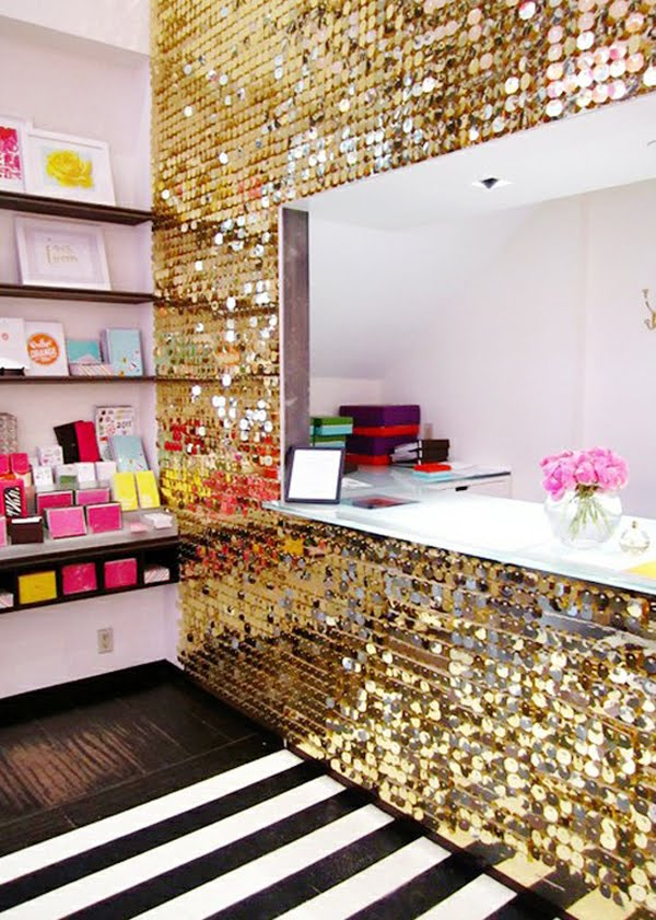 Http Www Amazinginteriordesign Com Make Your Room Sparkle With Glitter Walls
