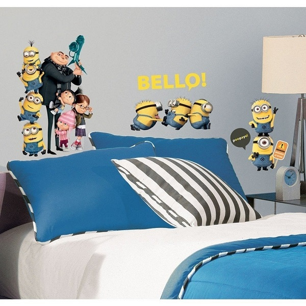 Choosing minion room d cor for your child s bedroom