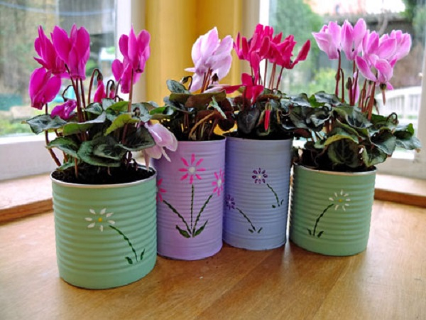 Handmade flower pots make the best gifts for Flower pot making with waste material