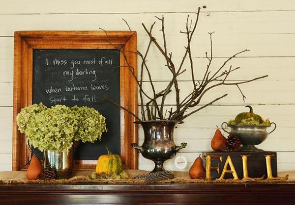 1.Welcoming Fall Hallways