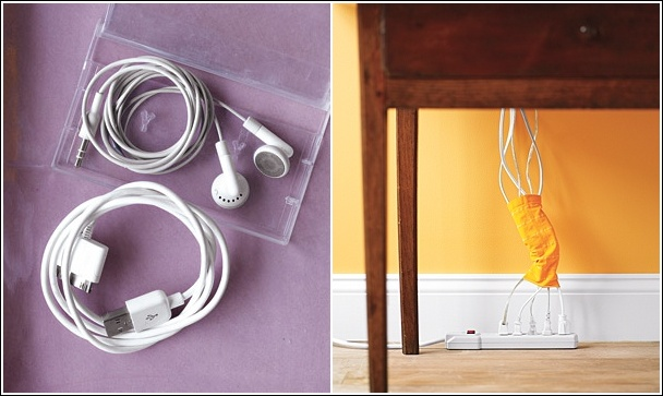 15 cord management life hacks for no more tangled wires image source realsimple 11 diy solutioingenieria Gallery