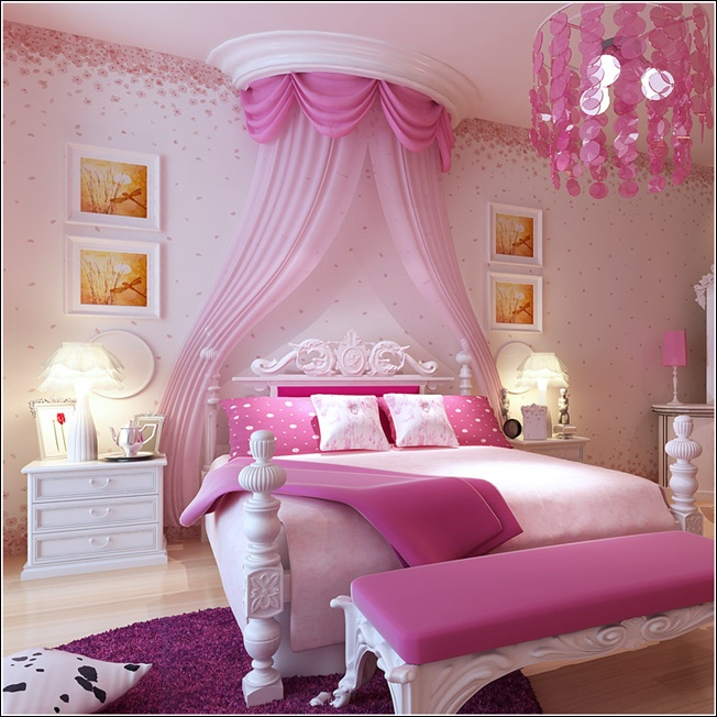 Princess Kids Bedroom Sets Interior Of Master Bedroom Newborn Boy Bedroom Ideas Bedroom For Kids: 11 Over The Top Themes For Kids Bedroom