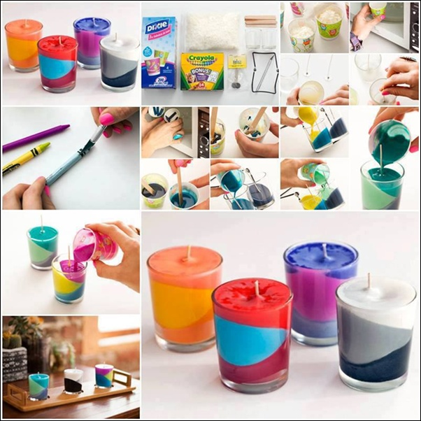 Will You Try These Diy Candles Made With Crayons And Wax
