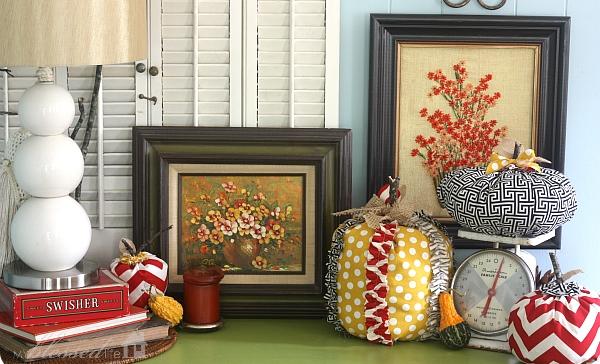 5. Pumpkins in patterns
