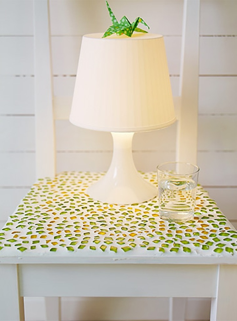 5.Enjoy in your new mosasic bedside table