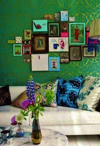 5.Lively Wall Art Display