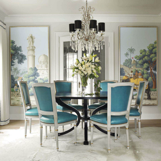 Dine Wine and a Glorius Time- Classy and Chic Dining Room Designs