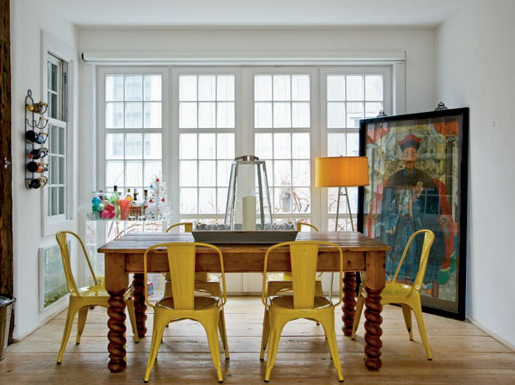 Go eclectic and chic in the dining room for Eclectic dining room designs