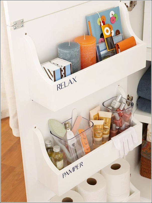 15 clever life hacks for bathroom storage and organization Bathroom organizing ideas
