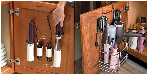 Hair Dryer Holders And Organizers. 8