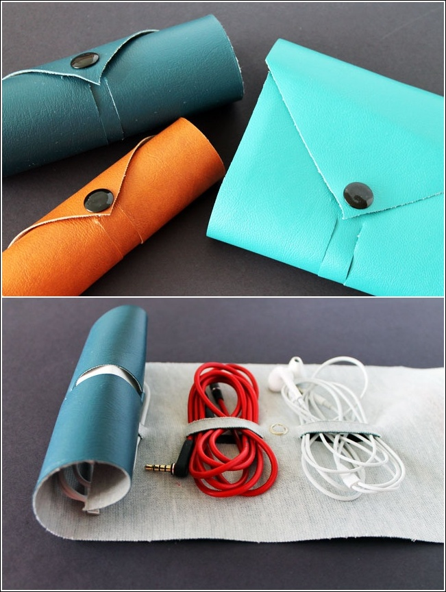 15 cord management life hacks for no more tangled wires Charger cord organizer diy