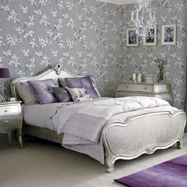 Hirshfield S Color Club: Choosing Silver Bedroom Décor For A Romantic Touch