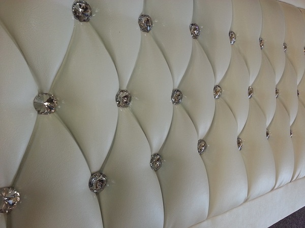 Bring In Luxury And Class With Diamante Headboards