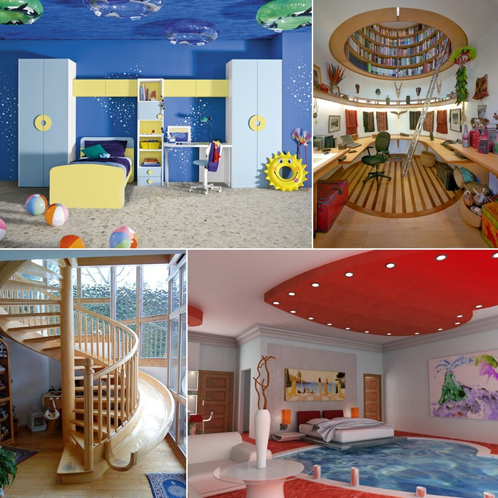 Ultra Cool Fun Creative Interior Design: 25 Jaw-Dropping Ideas To Turn Your Home Awesome