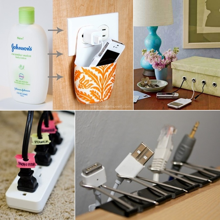 15 Cord Management Life Hacks For No More Tangled Wires