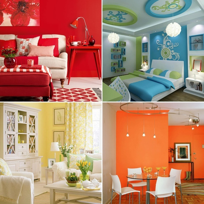 effects of room color schemes on your mood