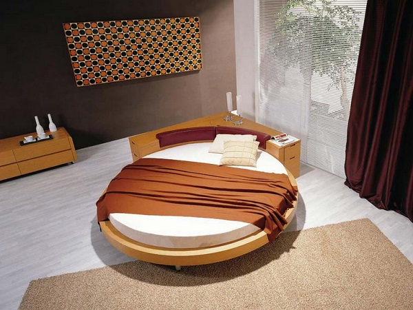 Round beds can be fun but how can you decorate your rooms for Round bed design