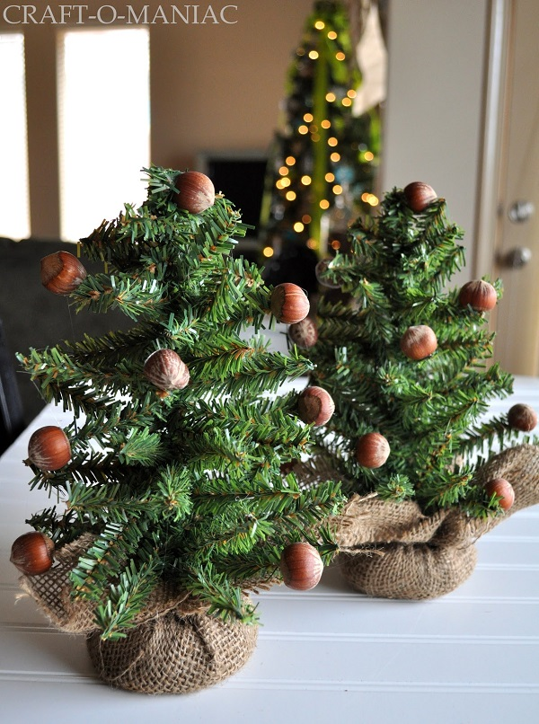 Diy mini christmas trees can make the best alternative for Small designer christmas trees
