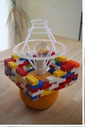 2.Start puting up the legos - Copy